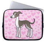 Greyhound / Whippet / Italian Greyhound Love Laptop Computer Sleeves