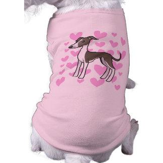 Greyhound / Whippet / Italian Greyhound Love T-Shirt