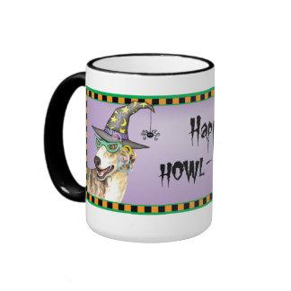 Greyhound Witch Mug