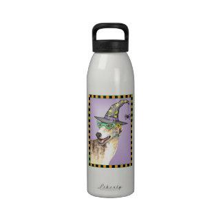 Greyhound Witch Water Bottle