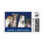 Greyhounds, ADOPT A GREYHOUND Postage