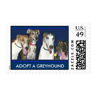 Greyhounds, ADOPT A GREYHOUND Postage