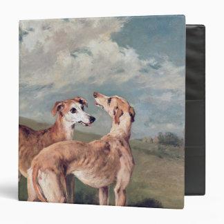 Greyhounds 3 Ring Binder