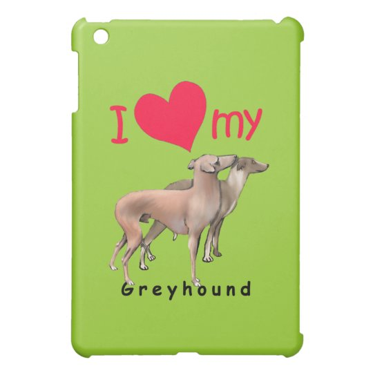 Greyhounds iPad Mini Case