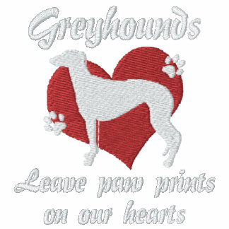 Greyhounds Leave Paw Prints