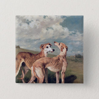 Greyhounds Pinback Button
