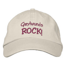 Greyhounds Rock Cute Baseball Cap