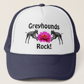 Greyhounds Rock Dog Lover Hat