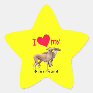 Greyhounds Star Stickers