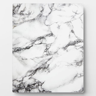 Greyish White Marble Plaque