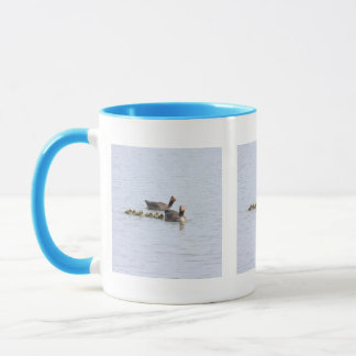 Greylag Family Mug