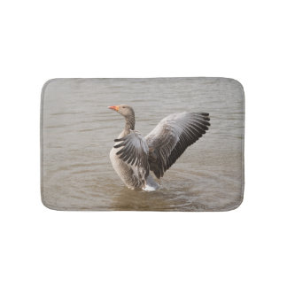 Greylag Goose Bath Mat