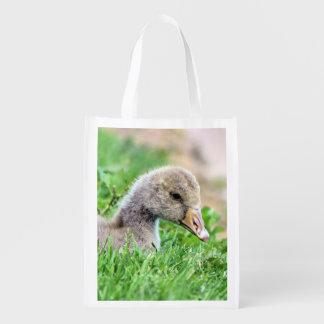 Greylag Goose Gosling Grocery Bag