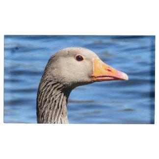 Greylag Goose Table Card Holder
