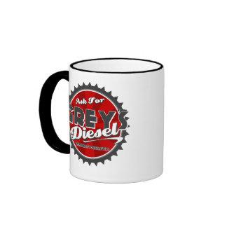 Grey's Diesel fuel Logo Mug