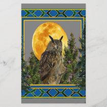 GREY'S & GREENS FULL MOON WILDERNESS OWL