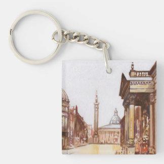 Greys Monument Newcastle Keychain Keyring