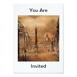Greys Monument Your Are Invited Invitation