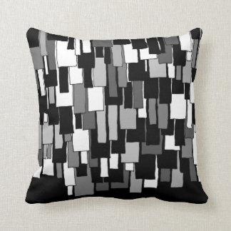 greyscale flaps pillow / cushion