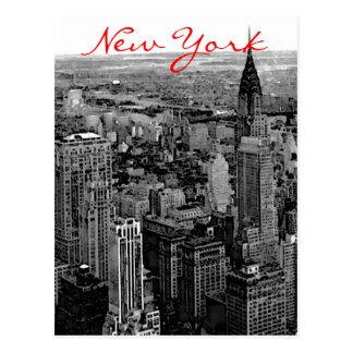 Greyscale New York City Postcard