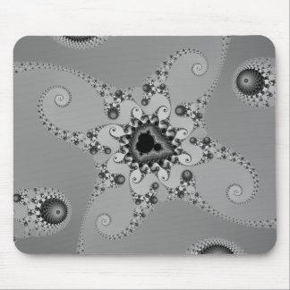 Greyscale Octopuses Mousepad