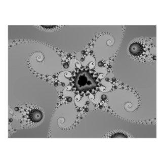 Greyscale Octopuses Postcard