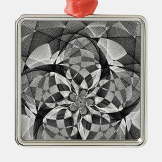 GreyScale Star July 2013 Metal Ornament