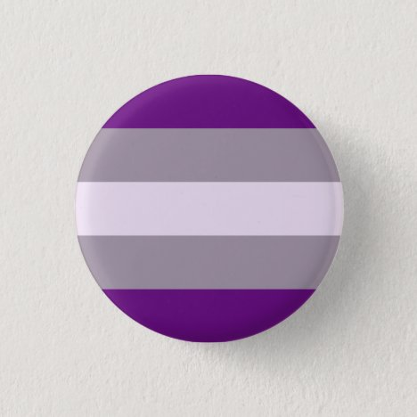 Greysexual Pride Badge Flag Button