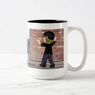 Greysmoke Two-Tone Coffee Mug