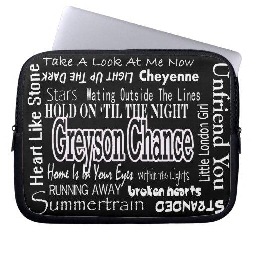 Greyson Chance Laptop Case Laptop Computer Sleeve