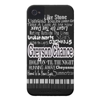 Greyson Chance Phone iPhone 4 Cases