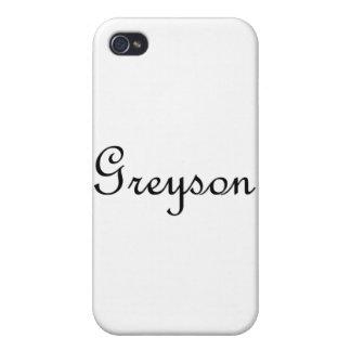 Greyson iPhone 4 Fundas