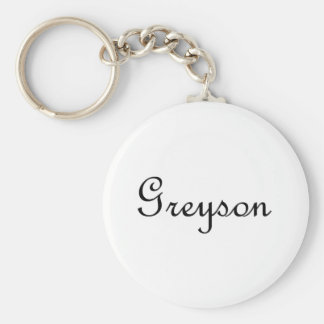 Greyson Llavero Redondo Tipo Pin