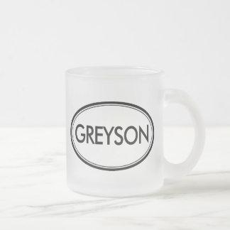 Greyson Taza De Cristal
