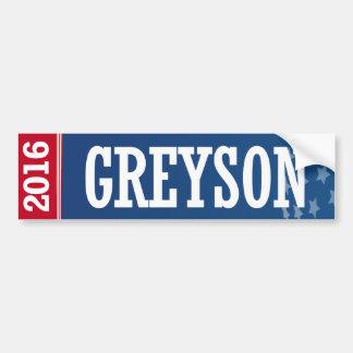 Greyson - torre de perforación Greyson 2016 Pegatina Para Auto