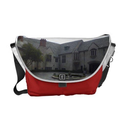 Greystone Mansion   Rickshaw Messenger Bag