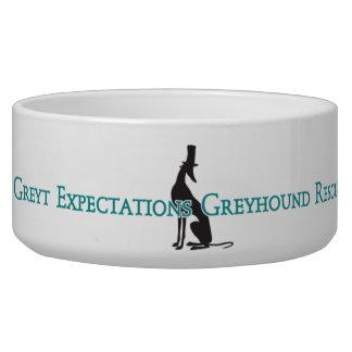 Greyt Expectations Greyhound Rescue Bowl