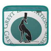 Greyt Expectations Greyhound Rescue iPad Sleeve