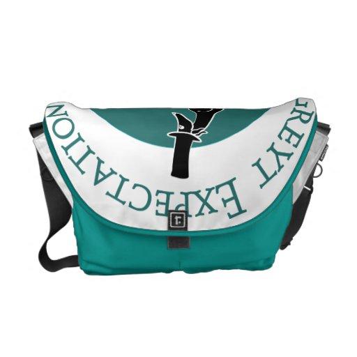 Greyt Expectations Greyhound Rescue Messenger Bag
