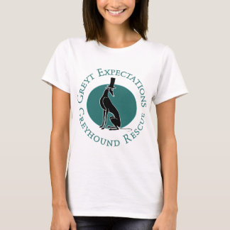 Greyt Expectations Greyhound Rescue T-Shirt