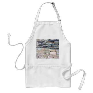 greywhackle stone wall aztec ruins new mexico adult apron