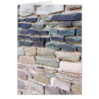 greywhackle stone wall aztec ruins new mexico card