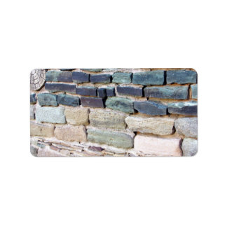 greywhackle stone wall aztec ruins new mexico label