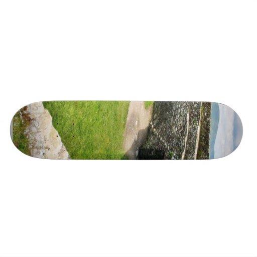 Griahan del fuerte de piedra de Aileach Monopatín