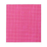 GRID12 HOT RICH CANDY PINK GRID GIRLY PATTERN TEMP MEMO NOTEPADS