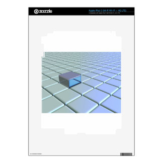 grid-684-gri iPad 3 skin