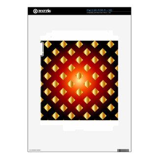 Grid background iPad 2 skins