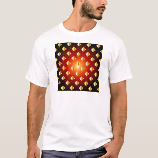 Grid background T-Shirt