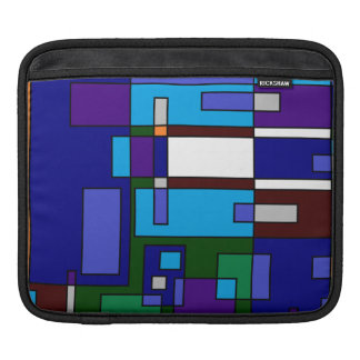 Grid Casual Sleeve For iPads