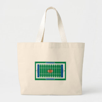 grid iron football field graphic bags